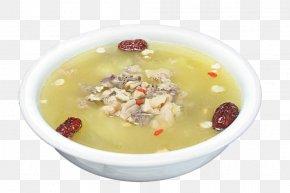A Bowl Of Stewed Chicken Soup - Chicken Soup Goji Eintopf PNG