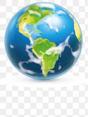 Cartoon Earth - Earth Space Cartoon Clip Art PNG