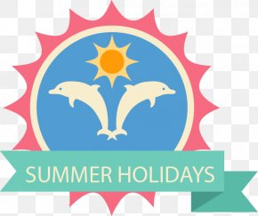 Color Tag Vector Material Summer Vacation - Graphic Design Summer Vacation Clip Art PNG