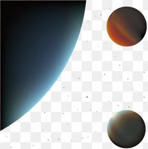 Creative Star Planet - Sphere Sky Wallpaper PNG