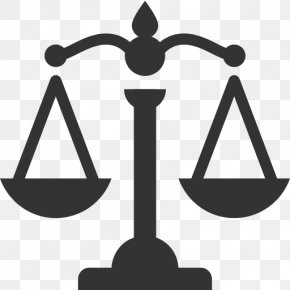 Scales - Weighing Scale Justice Icon PNG