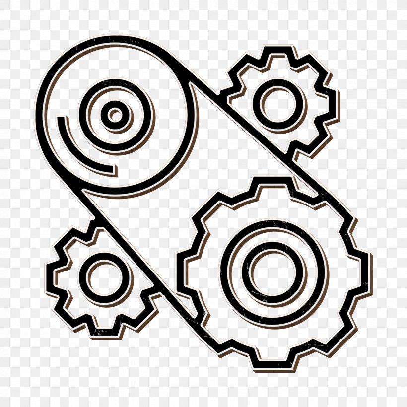 Court building, lighthouse and cogwheel icons set. engineer sign. vector.  Court building, lighthouse and cogwheel icons