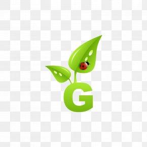 Green Leaf Letter G - Green Marketing Letter Business PNG