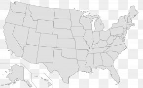 Us - Northeastern United States Blank Map Geography Mercator Projection PNG
