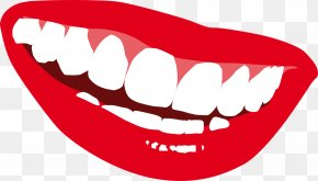 Smile Mouth - Smiley World Smile Day Clip Art PNG