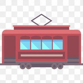 Train - Train Car Vehicle PNG