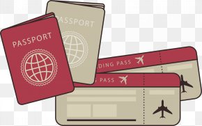 Travel Passports And Air Tickets - Travel Tourism Airline Ticket PNG