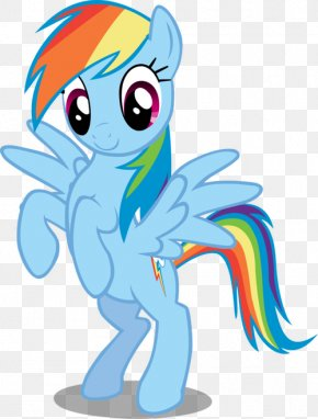 Rainbow Dash Vector Standing Transparent Image - Rainbow Dash Rarity Pinkie Pie Applejack Derpy Hooves PNG