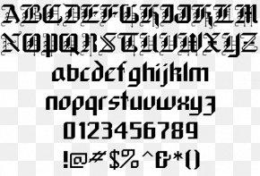 Jungle Forest - Blackletter Font Family Script Typeface Sans-serif Font PNG