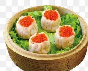 Crab Roe Dumpling - Dim Sum Shumai Dim Sim Har Gow Crab PNG