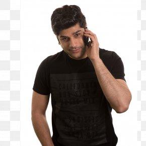 T-shirt - Salman Khan T-shirt Shoulder Microphone Sleeve PNG