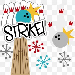 Strike Cliparts - Bowling Pin Party Strike Clip Art PNG