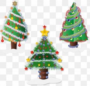 Trees - Christmas Tree Clip Art PNG