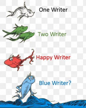 Book - One Fish, Two Fish, Red Fish, Blue Fish And To Think That I Saw It On Mulberry Street Great Day For Up! The Cat In The Hat Beginner Book Dictionary PNG