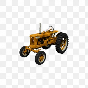 Farm Tractor - Tractor Icon PNG