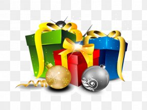 Gift - Christmas Gift New Year Illustration PNG