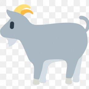 Goat - Emoji Goat Sheep SMS Clip Art PNG