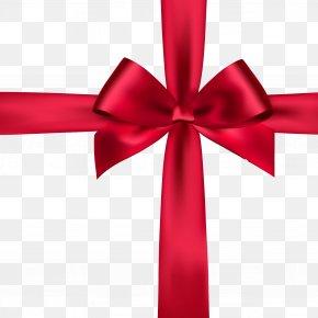 Ribbon Bow - Ribbon Satin Red Stock Photography PNG