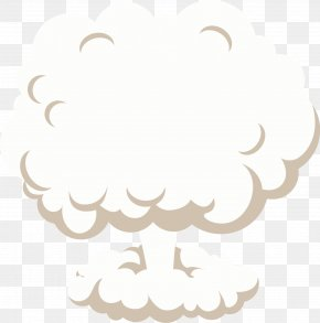 Mushroom Cloud Vector - Mushroom Cloud Explosion PNG