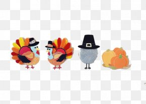 Cartoon Doll - Thanksgiving Christmas Holiday Turkey Meat Clip Art PNG