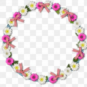 Flower Frame - Friendship Day Greeting Love PNG