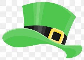 ST PATRICKS DAY - Saint Patrick's Day Hat Shamrock Clip Art PNG