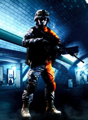 Battlefield - Battlefield 4 Battlefield 3 Soldier M16A4 Video Game PNG