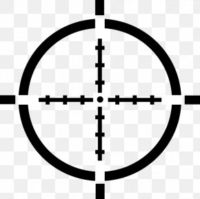 Crosshairs Cliparts - Reticle Telescopic Sight Clip Art PNG