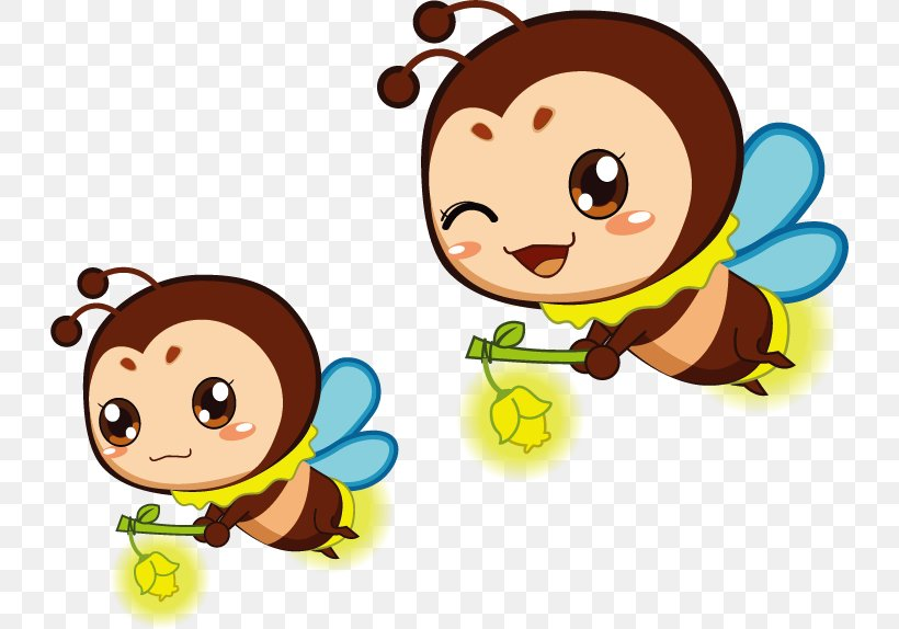 Cartoon Firefly Animation Insect, PNG, 728x574px, Cartoon