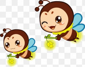 Firefly Cartoons - Cartoon Firefly Animation Insect PNG