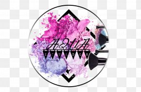 Aqua - Logo Pink M Brand Font PNG