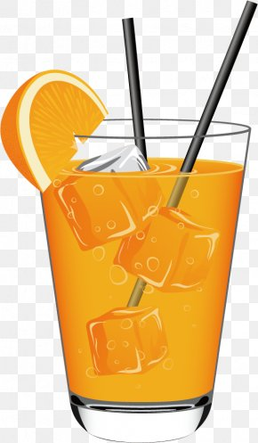 Summer Cold Refreshing Drinks - Soft Drink Orange Juice Cocktail Non-alcoholic Drink PNG