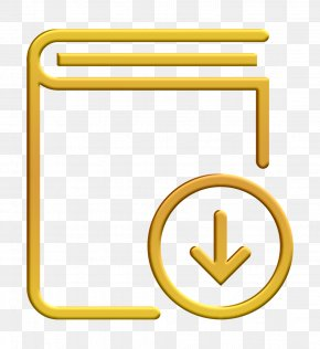 Yellow Streamline Icon - Book Icon Dowload Icon Streamline Icon PNG