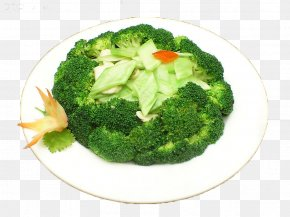 Green Broccoli - Chinese Broccoli Cauliflower Food Vegetable PNG