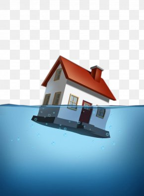 After The Flood, The Houses Were Flooded - National Flood Insurance Program Home Insurance PNG