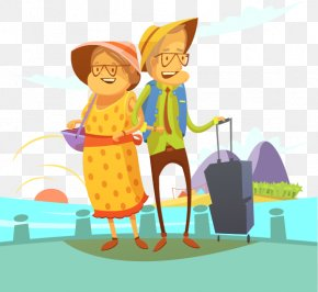 Vector Cartoon Creative Illustration - Travel Stock Illustration Illustration PNG