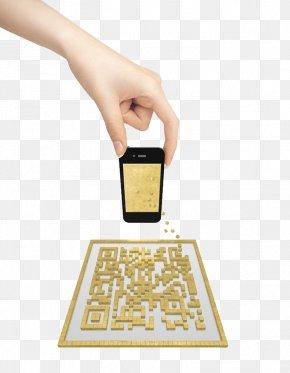 Smartphone Element - Airport Express 2D-Code Advertising Beijing Subway PNG