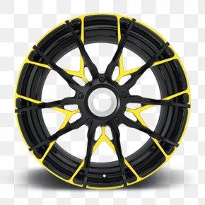 Car - Car Alloy Wheel Rim Spoke PNG