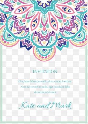 Beautifully Invitation Border - Greeting Card PNG