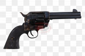 Handgun - Colt Single Action Army Revolver .357 Magnum .45 Colt PNG