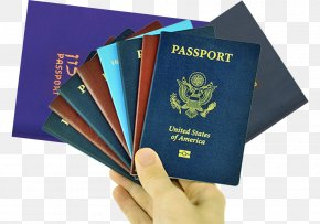 Stack Of Different Colored Material US Passport - United States Passport United States Passport Travel Visa Indian Passport PNG