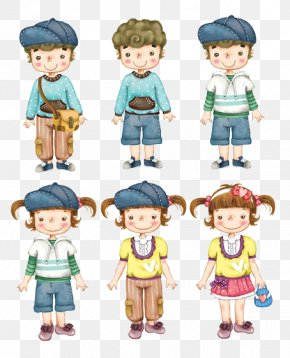 And All Kinds Of Children - Child Mother Cartoon Illustration PNG