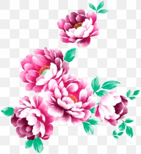 Flower - Floral Design Watercolor Painting Flower Image PNG