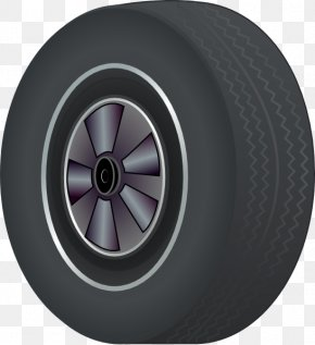 Tire Cliparts - Car Tire Wheel Clip Art PNG