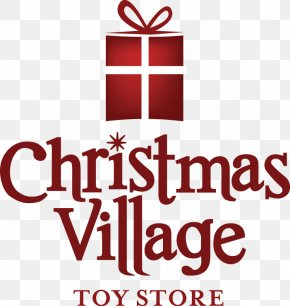 Toy - Christmas Village Toy Shop Christmas Tree PNG