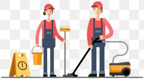 Business - Cleaner Commercial Cleaning Maid Service Business PNG