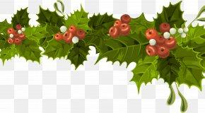 Santa Claus - Santa Claus Christmas Decoration Mistletoe Christmas Day Christmas Ornament PNG