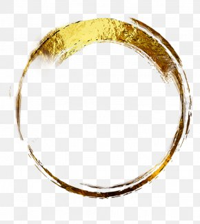 Gold Circle - Bangle Jewellery Clothing Accessories Bracelet Metal PNG