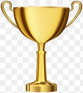 Golden Cup Award Transparent Clip Art - Trophy Award Icon Clip Art PNG