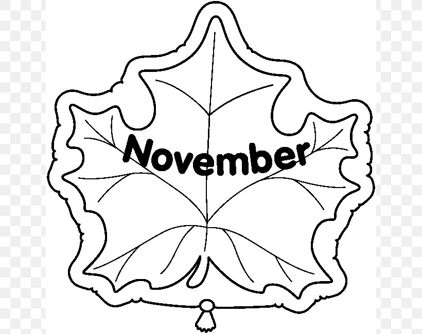 November Black And White Clip Art Png 642x650px Black And White Area Art Blog Artwork Blog